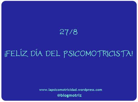 dia del psicomotricista