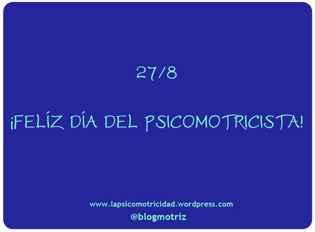 Día del Psicomotricista28/7
